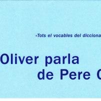 Joan Oliver parla de Pere Quart (Febrer 2002)