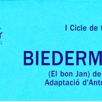 Biedermann (El bon Jan), de Max Frisch (Octubre 2003)